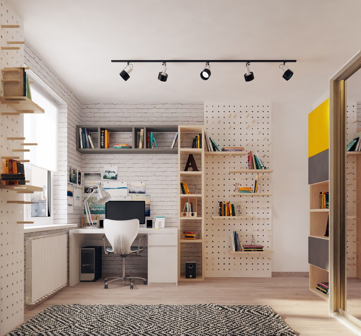 Design Ideas Tips Inspiration: 53 Inspirational Kids' Study Space Designs And Tips You