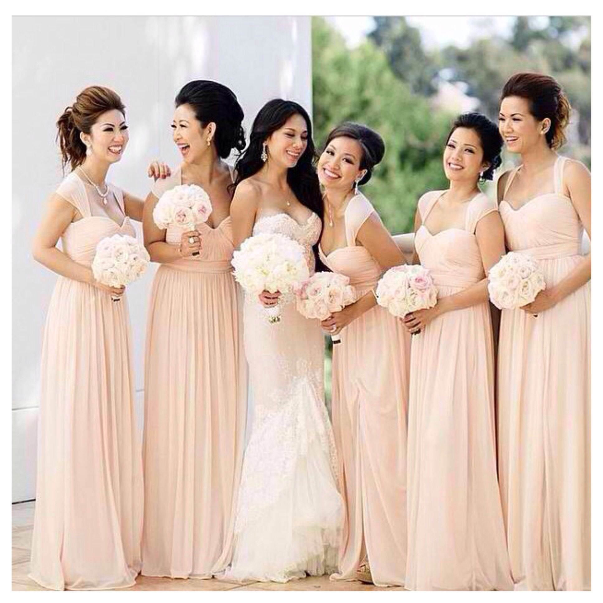 Wedding Entourage Gown Inspiration 1 Weddings Bridesmaid Dresses
