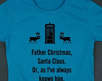 Dr Who Christmas Jumper T Shirt Also An Ideal Christmas