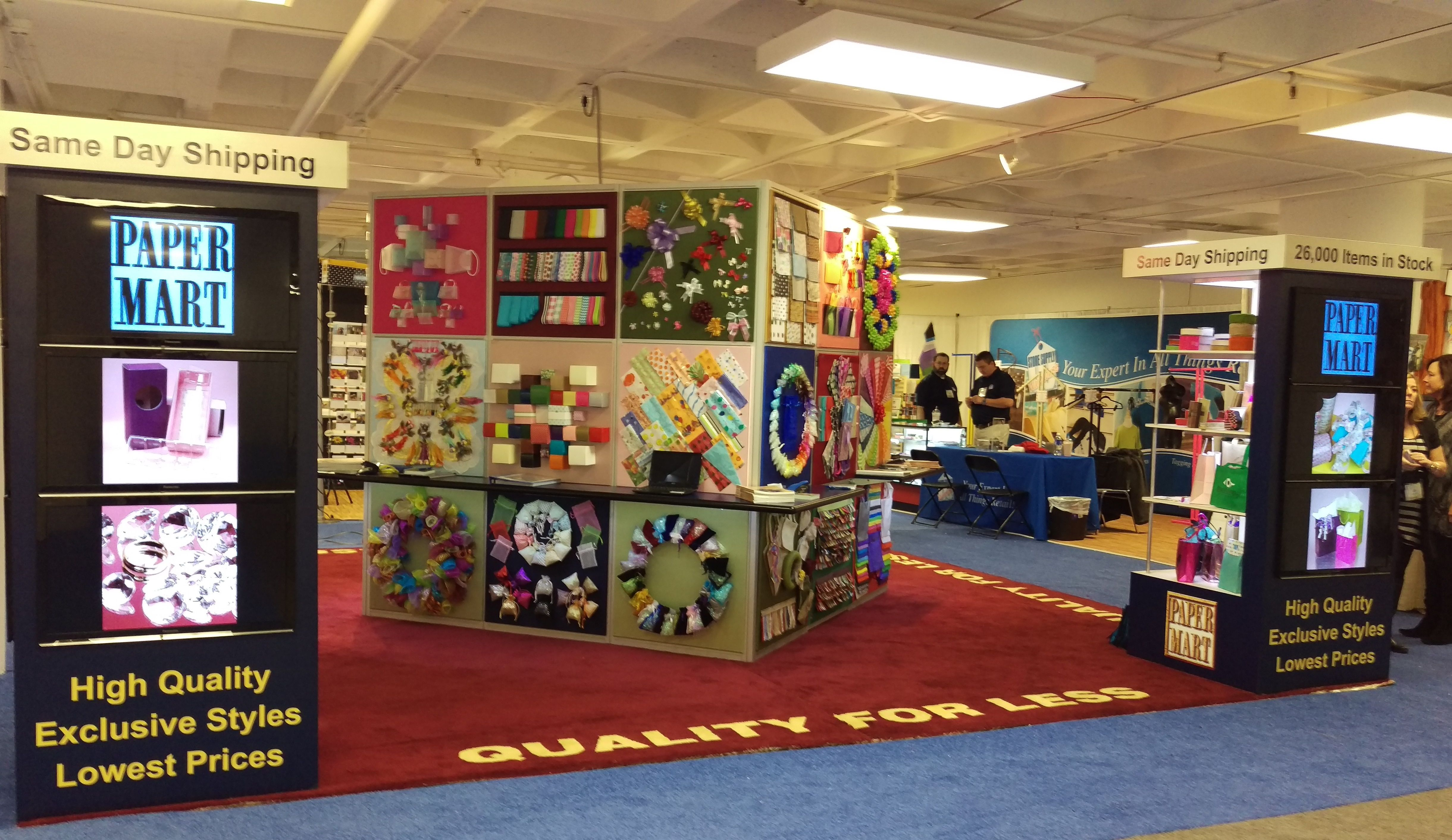 Our amazing #PaperMart booth at the Atlanta International Gift ...