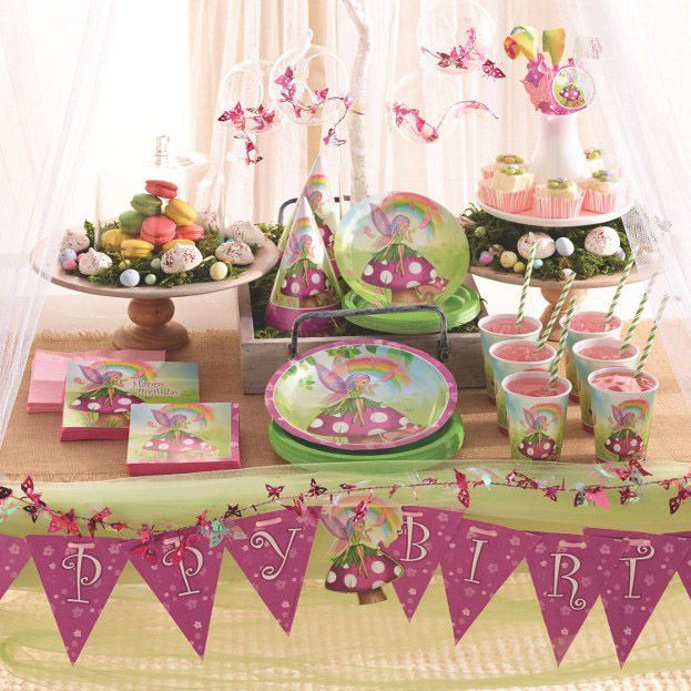 Build Your Own Gorgeous Fairy Party With Our Fabulous New Fancy Fairy Party Range Fairy Parties Fairy Party Supplies Girls Birthday Party Supplies