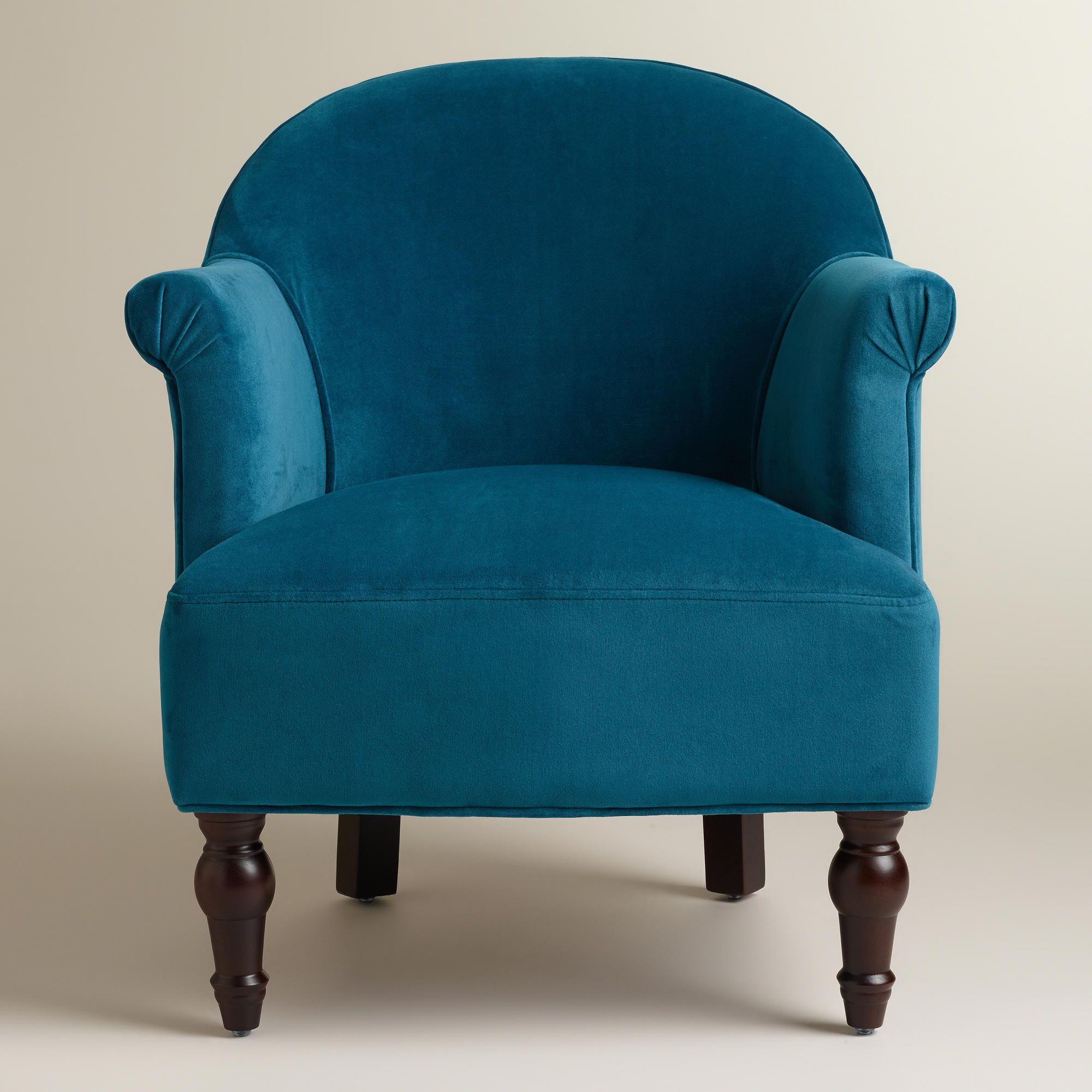 Wondrous Peacock Blue Lorna Chair World Market Chairs Blue Unemploymentrelief Wooden Chair Designs For Living Room Unemploymentrelieforg