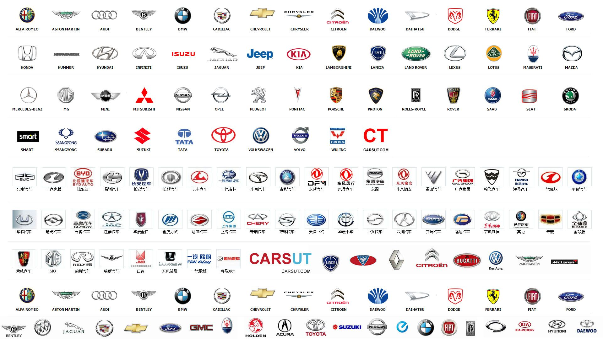 european car company logo Car logos, Car logos with names