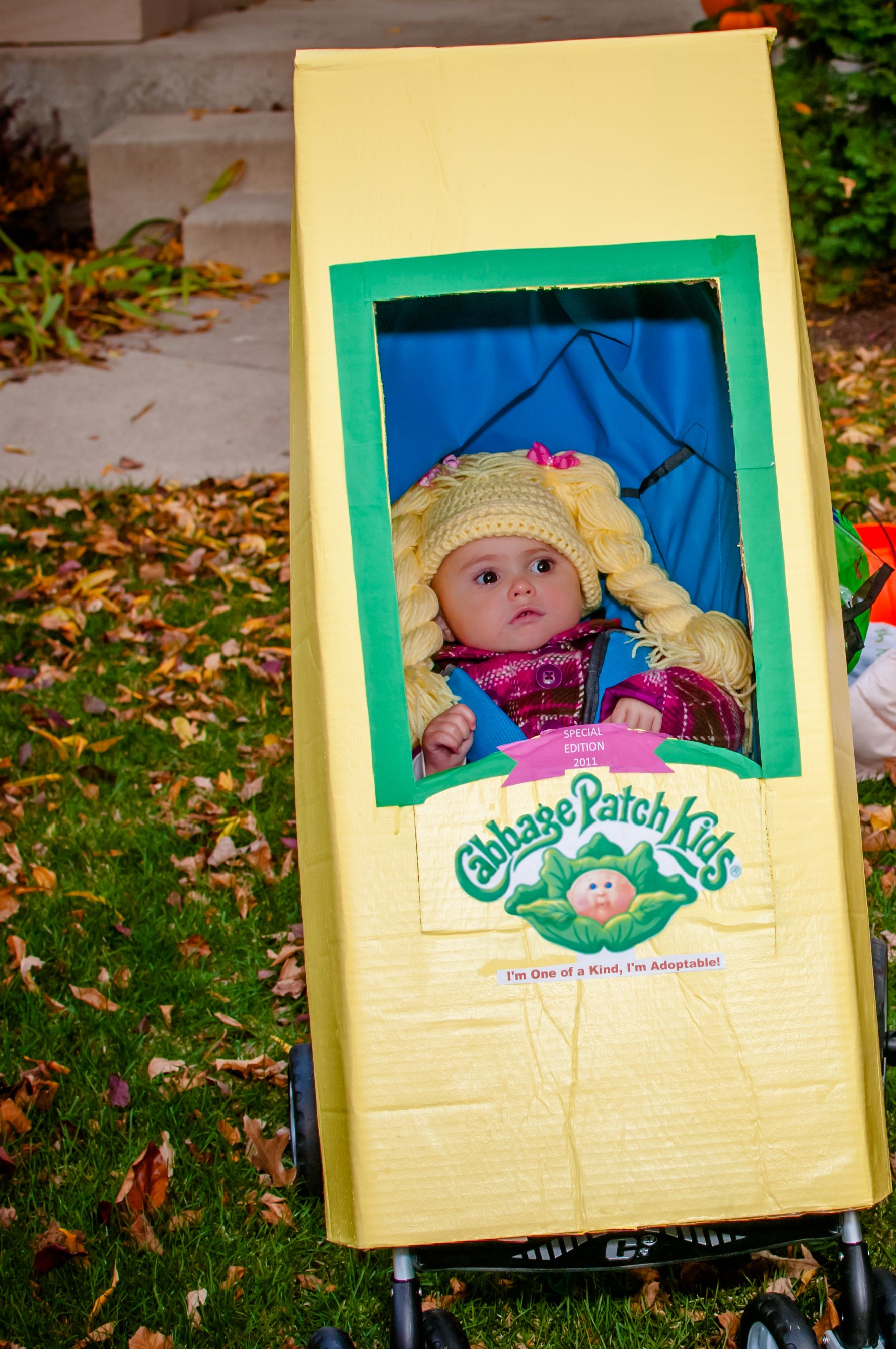 cabbage patch doll costume instructions | holidays | pinterest