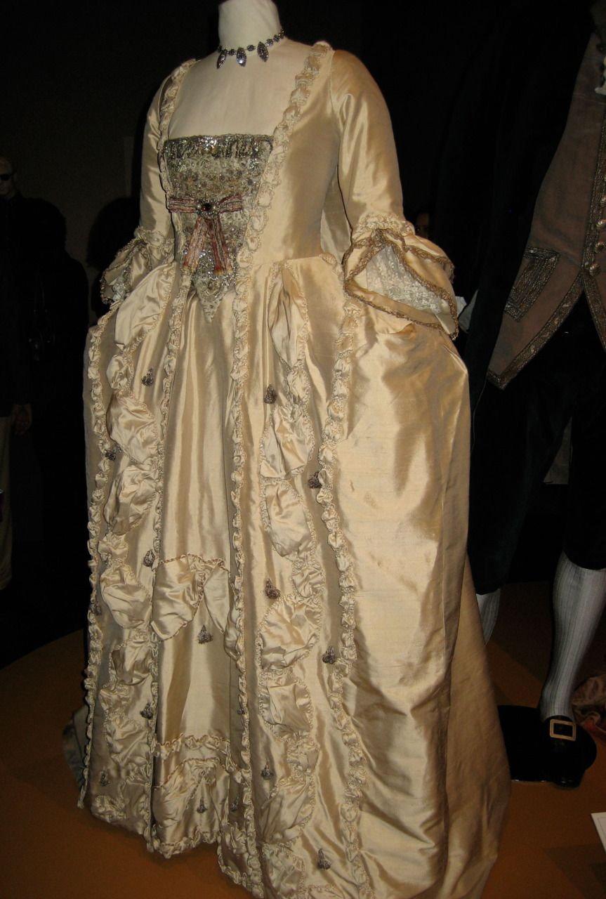 Keira Knightley Wedding Dress costume in \'The Duchess\', 2008. Late ...