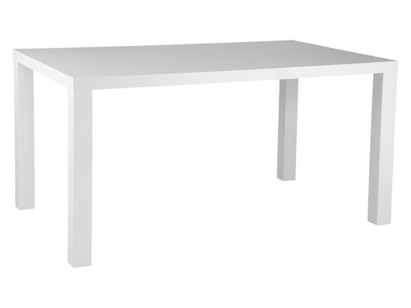 Obby Dining Table White Lacquer Table Dining Table Square