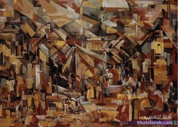 لوحات أشهر الرسامين العراقيين Art Crafts Texture
