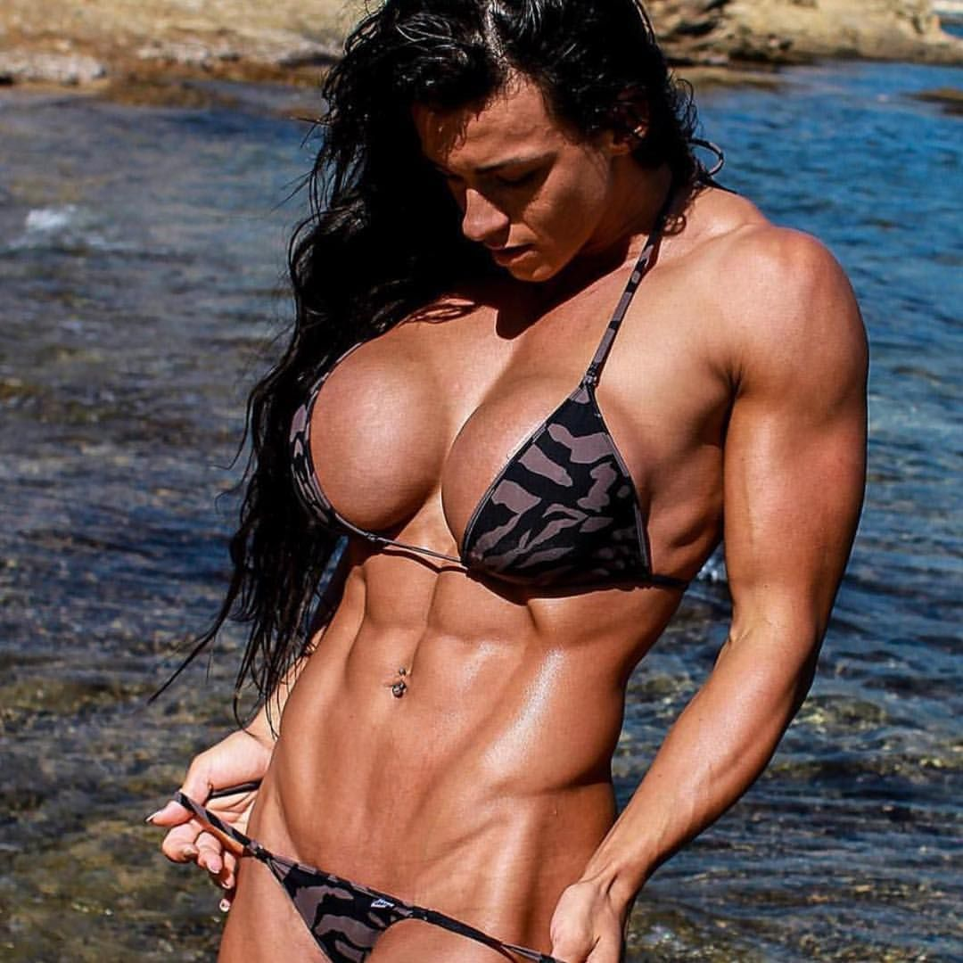Body Builder Girls Topless