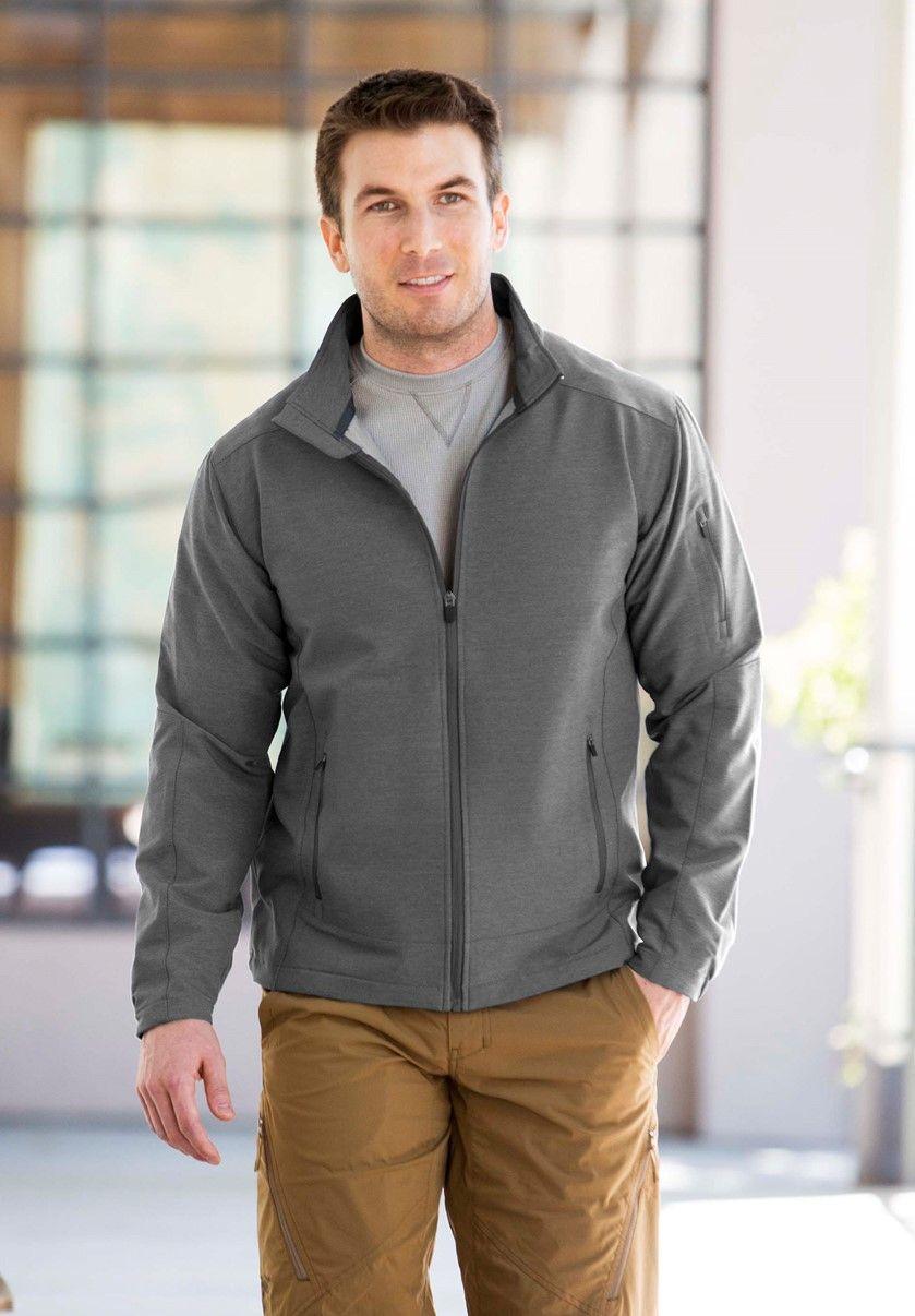 Landway Womens Zippered Pockets Nylon Micro Fleece Jacket