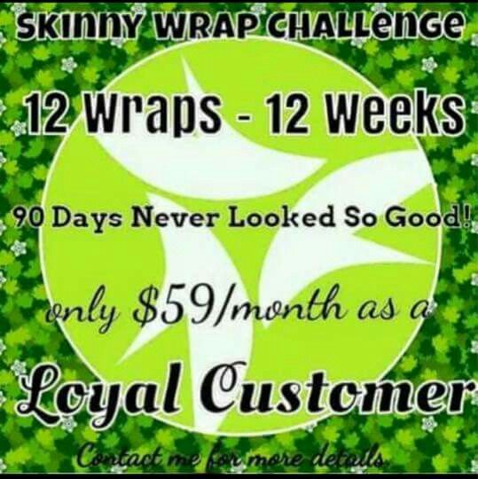 Have you tried that crazy wrap thing #itworks