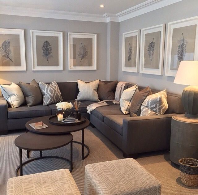 Paint Colour With Large White Frames Sophie Paterson Interiors Uk Home Living Room Living Room Grey Living Room Inspiration