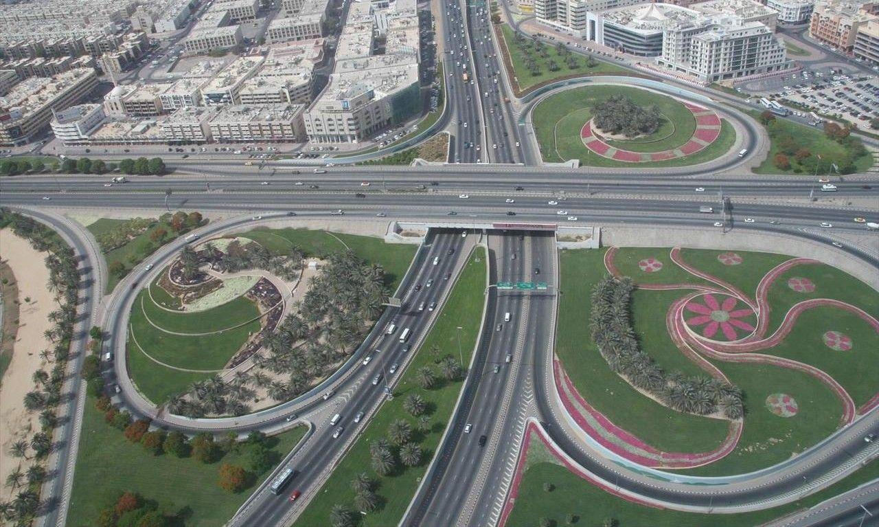 Dubai Road Dubai Road Travelling guide