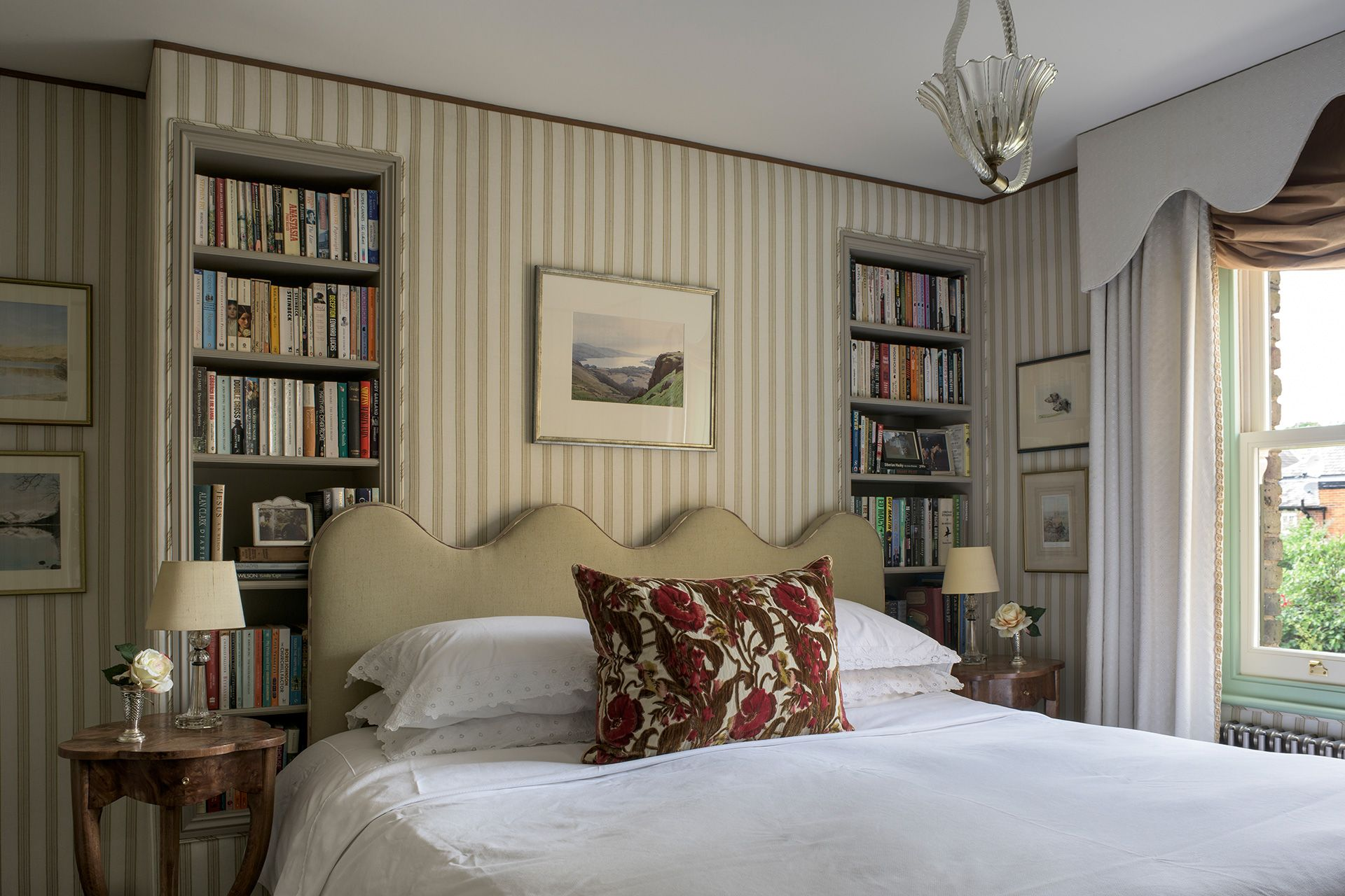 Louise Jones Interiors stunning bedroom design Interior