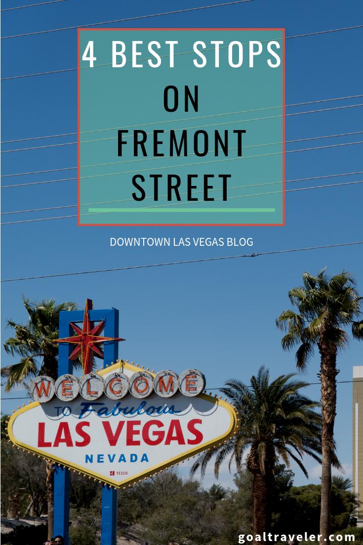 4 must see places on fremont street in las vegas my 40th vegas rh pinterest com