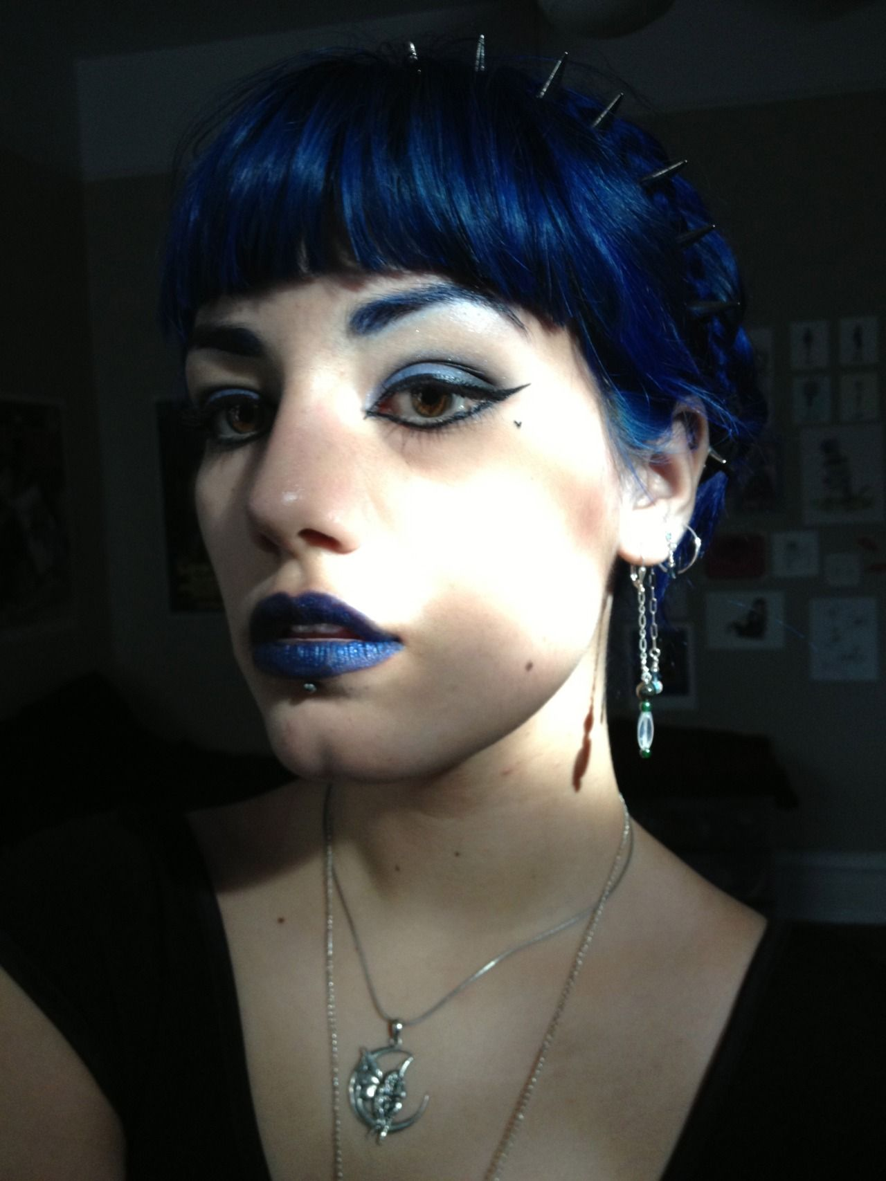 Gothic Alice S After Midnight Blue Hair Midnight Blue Hair