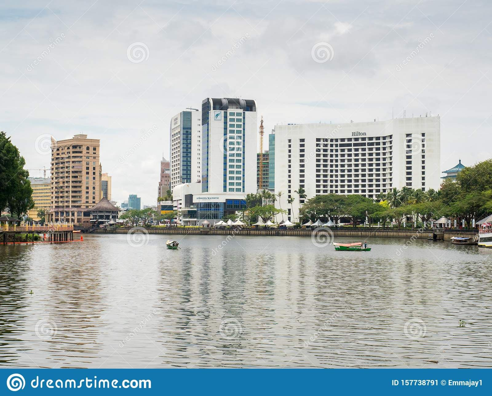 Hotels On The Banks Of Hte Sarawak River Kuching Malaysia Sarawak Kuching Malaysia