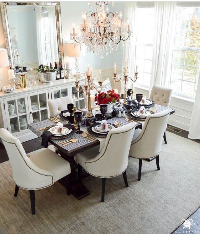 pin by cindy herrera on house dining room decor elegant elegant rh pinterest ch