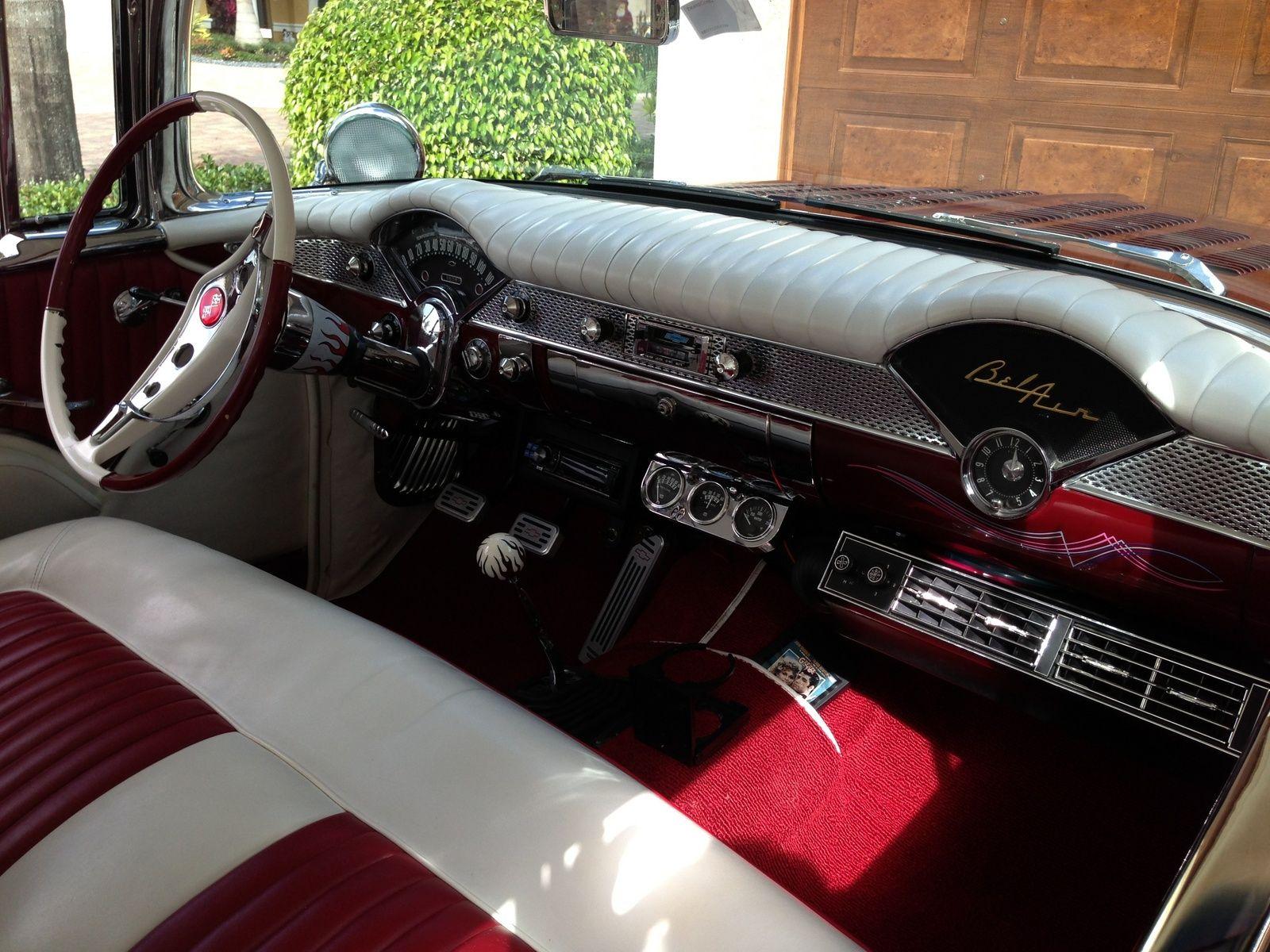 1956 chevrolet belair mjc classic cars pristine - 1955 Chevrolet Bel Air Base