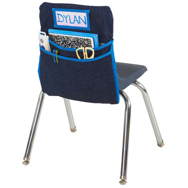 classroom seat companion denim constructed chair pocket and student rh pinterest com