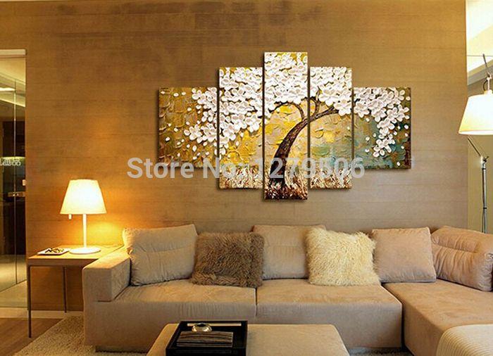 Cuadros para sala buscar con google paisajes jardines - Cuadros murales para pared ...