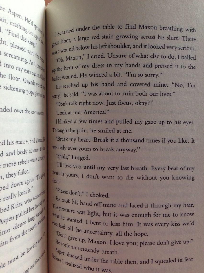The One Book By Kiera Cass The Selection Book Three Best Page Break My Heart Break It A T The Selection Book Quotes For Book Lovers My Heart Is Breaking