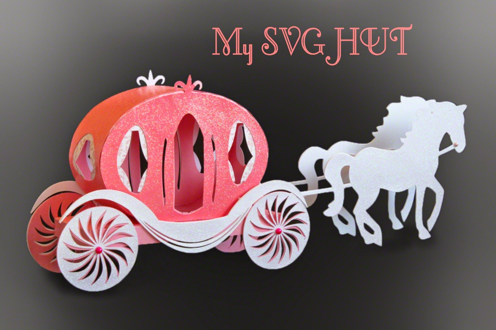 Princess Carriage Assembly Instructions below This design