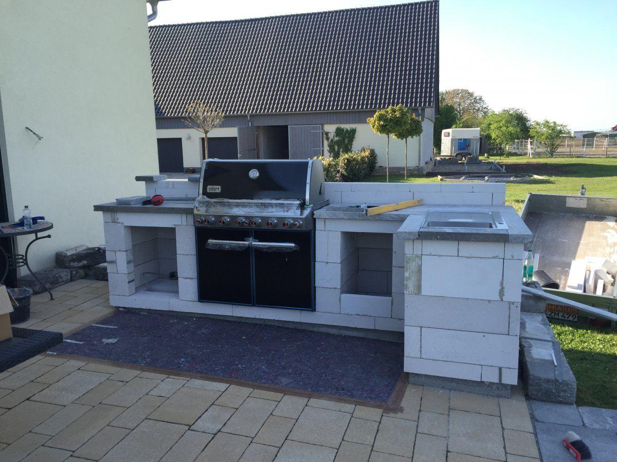 Außenküche Selber Bauen Grillsportverein : Außenküche aus holz mit us importen grillforum und bbq