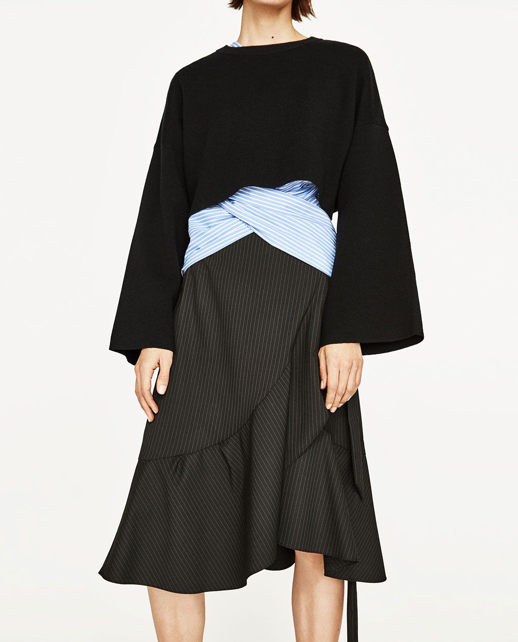 950ca5838e maje GALLIUM Metallic Leather Skirt at Maje US | Wearables | Leather Skirt,  Skirts, Metallic leather