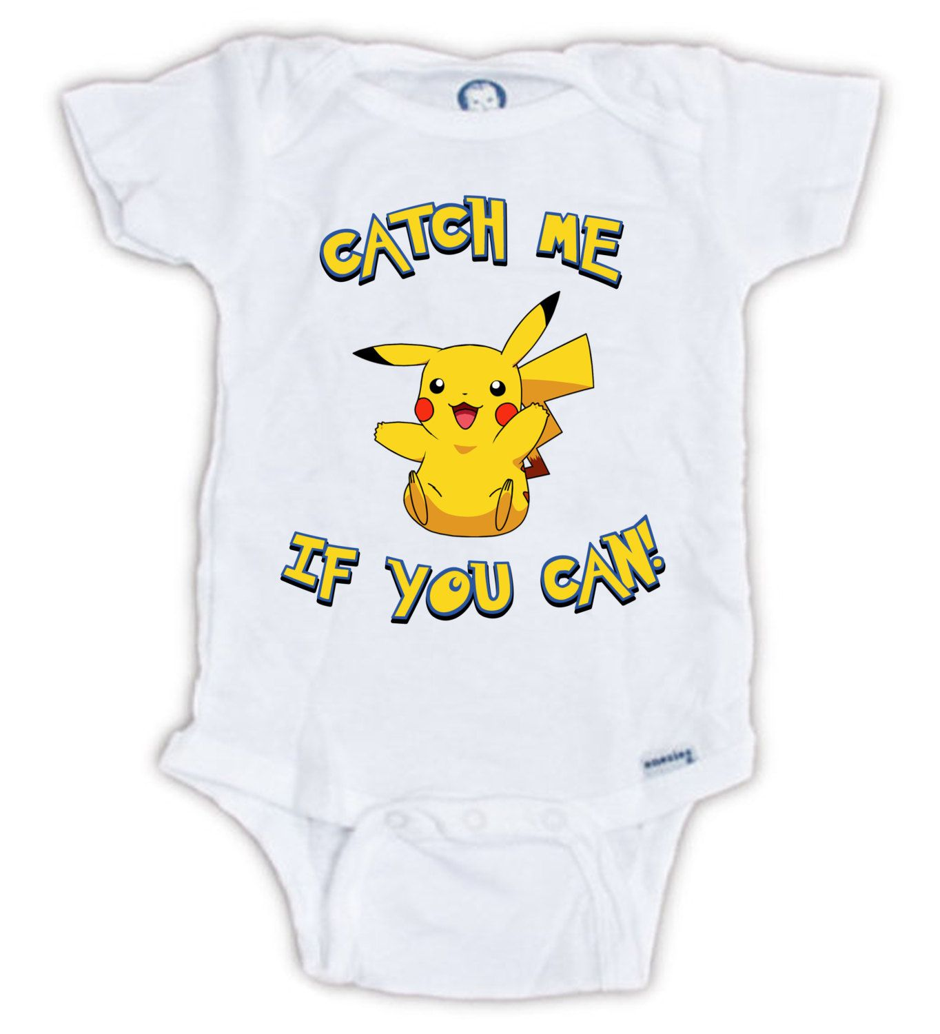 POKEMON Catch Me If You Can by JujuApparel on Etsy