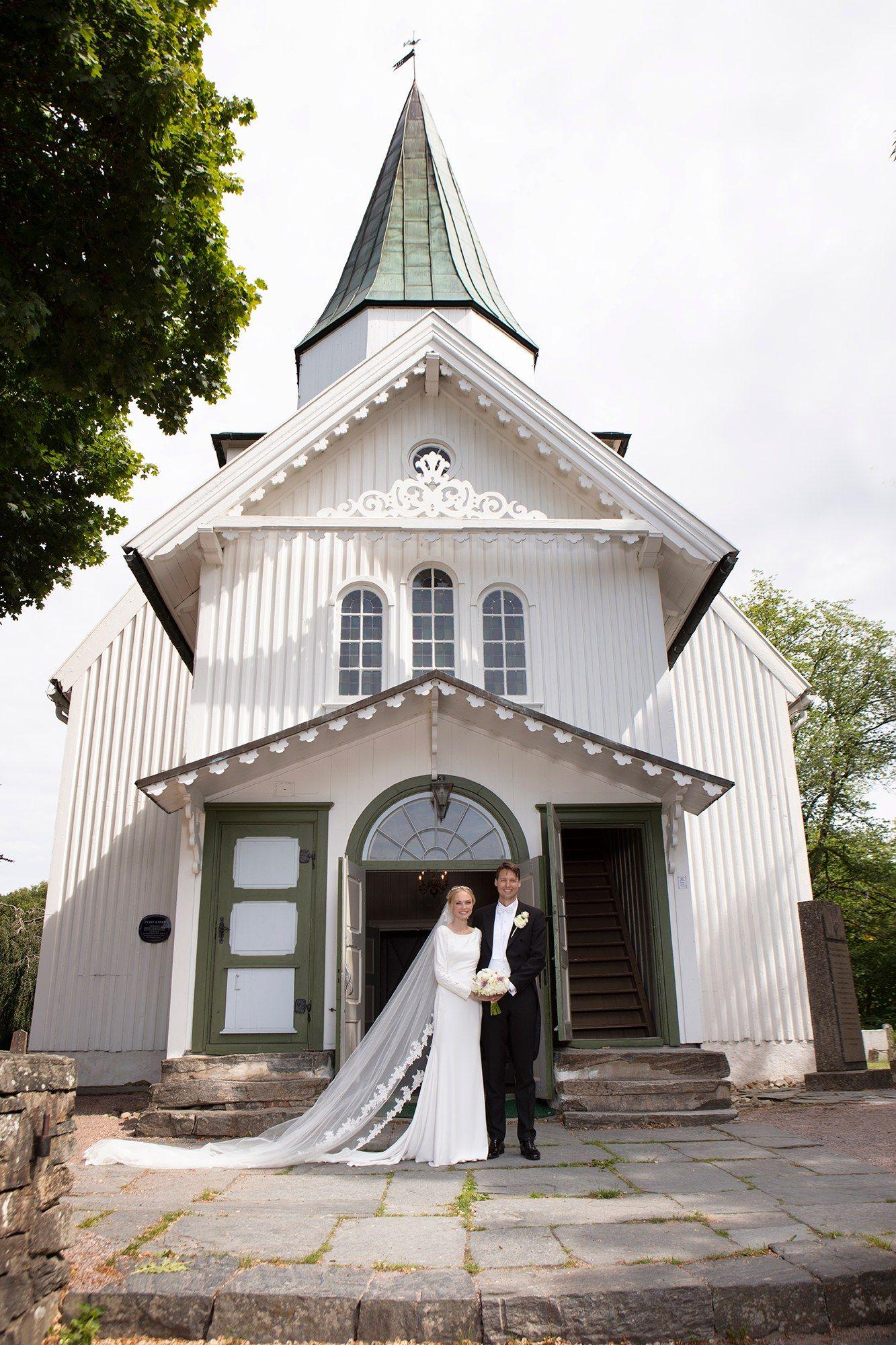 Siri Tollerød And Martin Steffensens Wedding In The