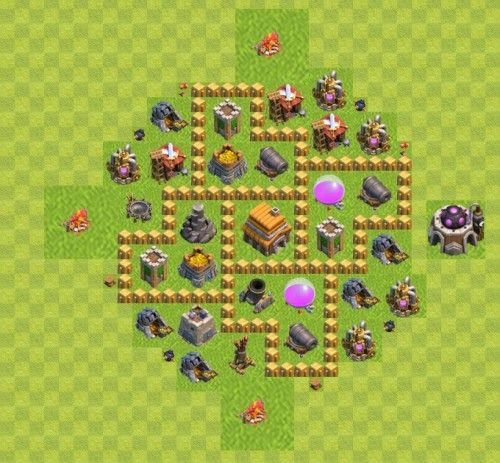 Base Coc Th 5 Terkuat 9