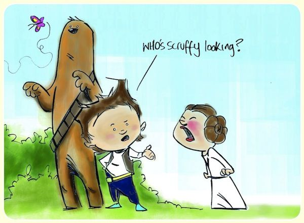 When 'Star Wars' Meets 'Calvin and Hobbes' - DesignTAXI.com