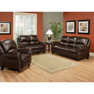 Leather Reclining Set At BJu0027s