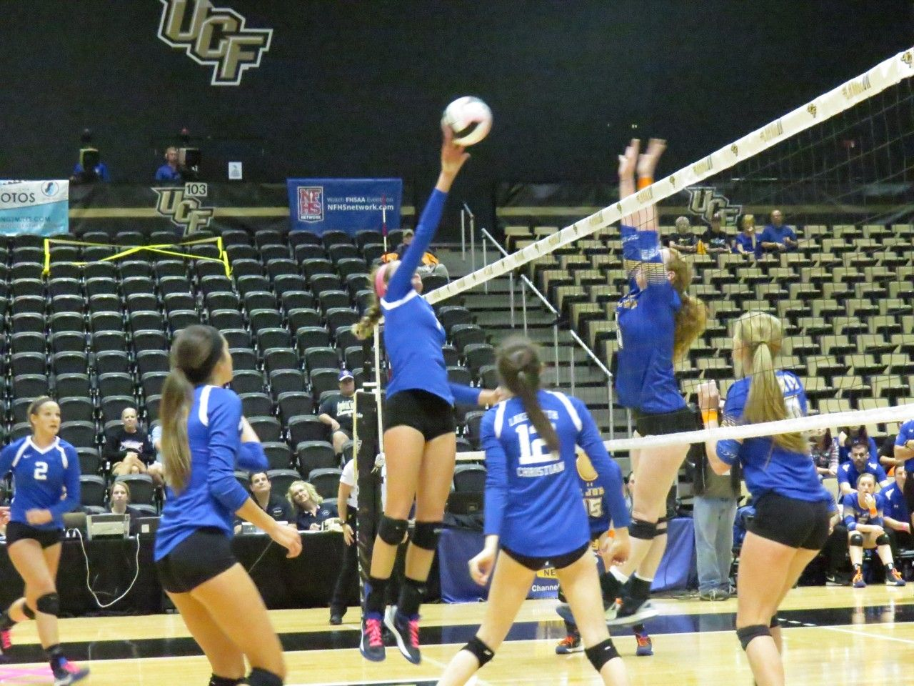 Recap Of Day 1 Of The Florida High School Girls Volleyball State Championships From Bhsn State Champs Volleyball Florida High School