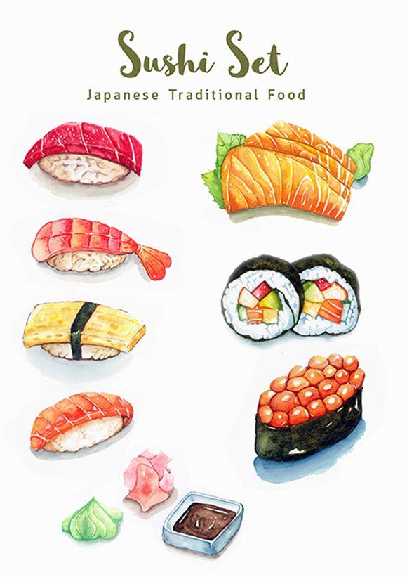 Sushi Set 01