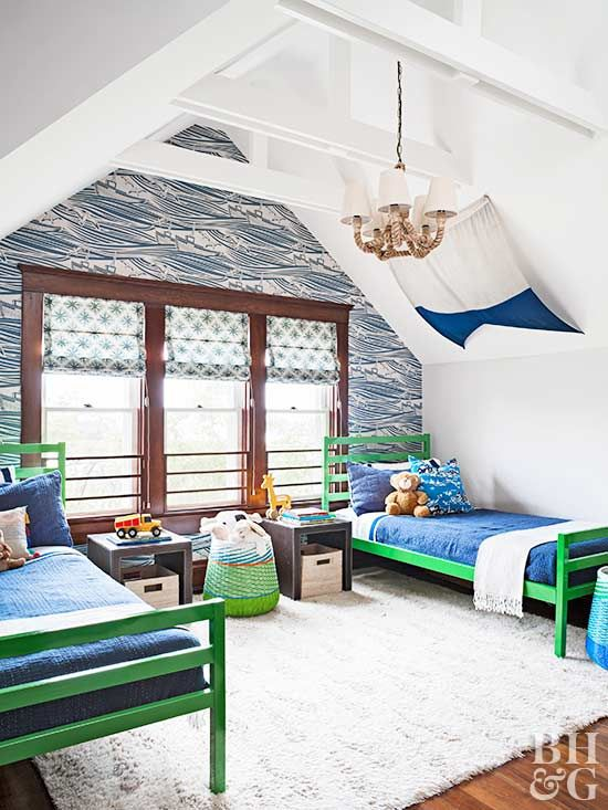Bland To Beautiful Cottage Renovation Blue Accent Walls Kids Room Paint Accent Walls In Living Room