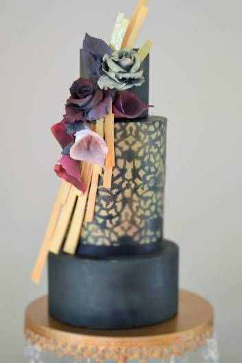 A Gallery Of Fondant And Gum Paste Wedding Cakes From Cake