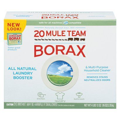 Mule Team Borax All Natural Detergent Booster Multi Purpose Household Cleaner 65 Oz Cleaning Hacks How To Clean