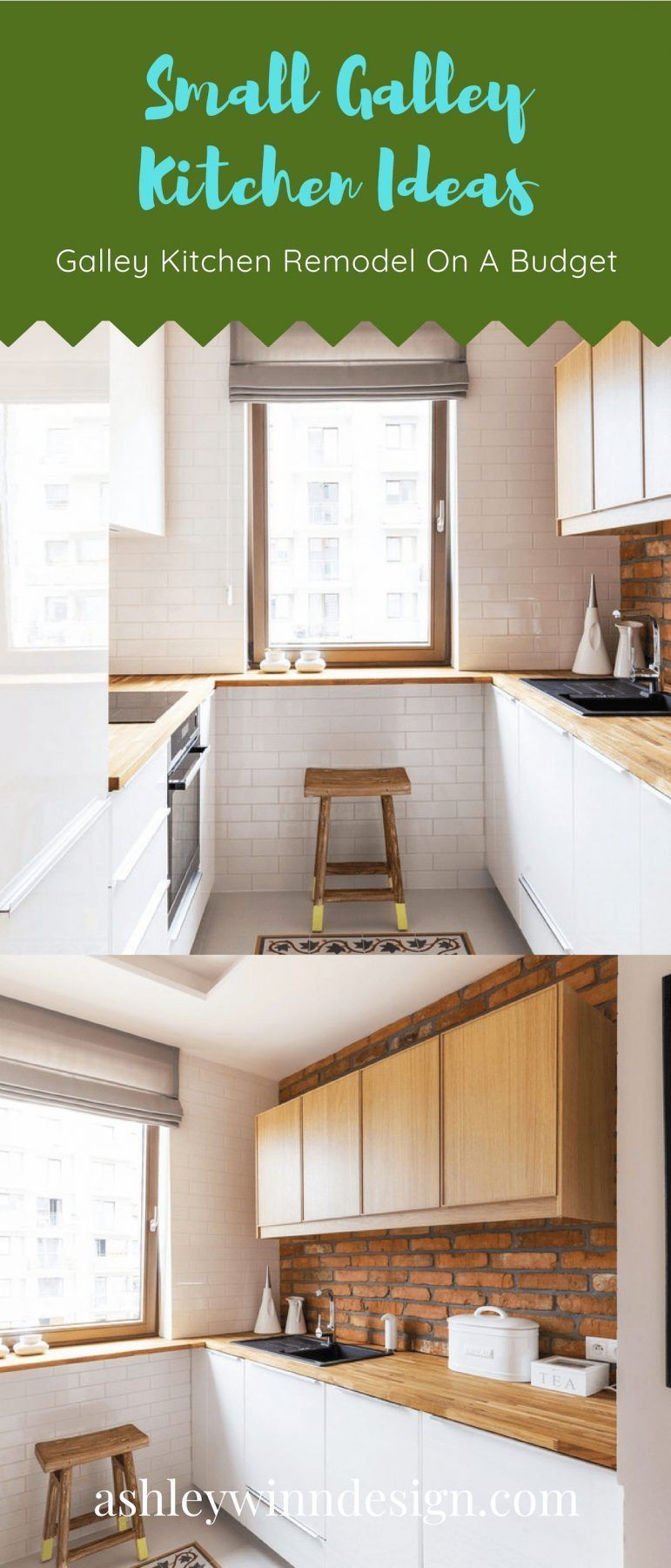 29 awesome galley kitchen remodel ideas design inspiration rh pinterest com