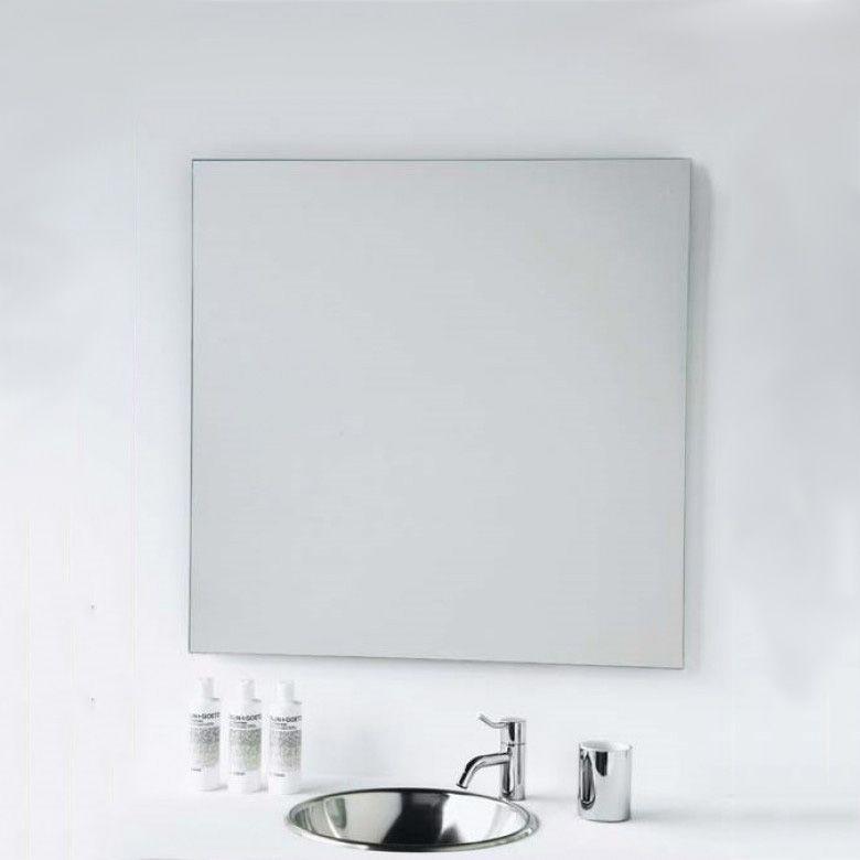 Vasic Slim Square Mirror 600 X 600mm 800 X 800mm Square Mirror Mirror Large Bathroom Mirrors
