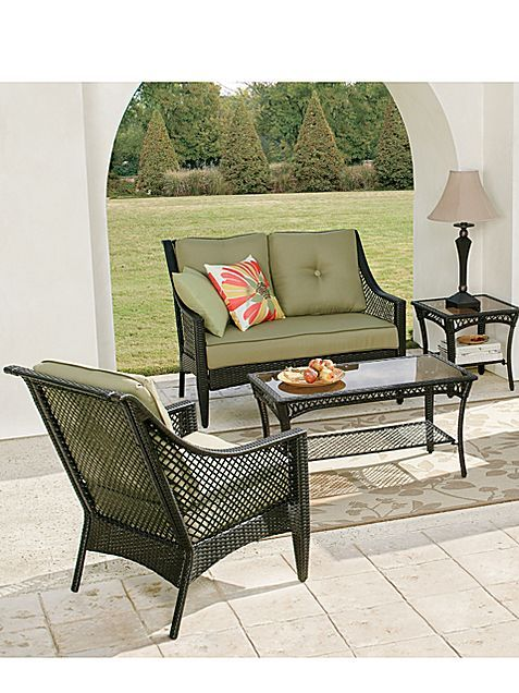 cindy crawford latigo patio furniture jcpenney 102 patio rh pinterest com