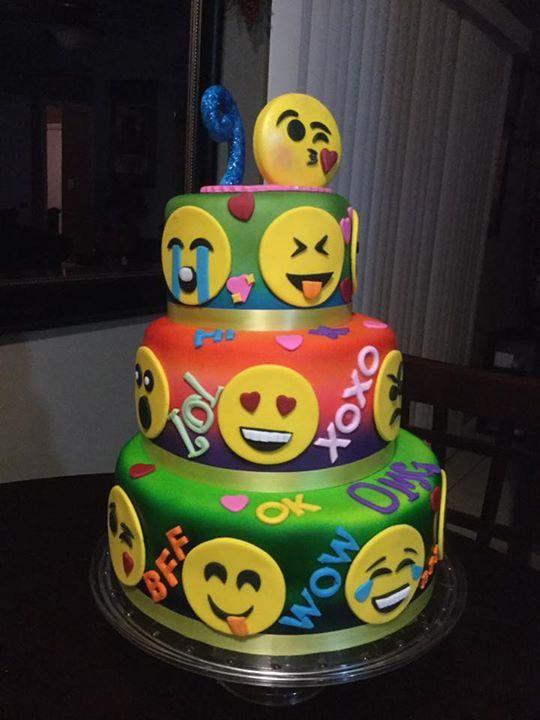 Southern Blue Celebrations Emoji Cakes