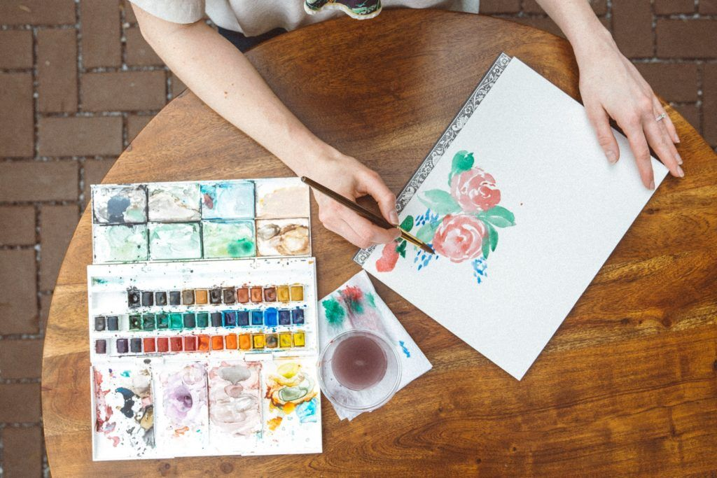 Leaving A Lasting Impression Through Faux Painting Watercolor