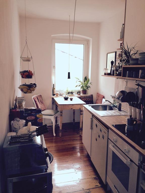 wunderschöne altbauküche zur einrichtungsinspiration mit
