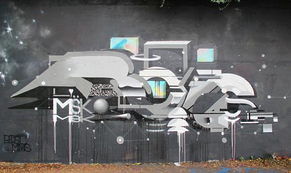 Friday Spotlight: Roid – view more (futuristic) images @ http://www.juxtapoz.com/Graffiti/friday-spotlight-roid# – #graffiti #roid #future