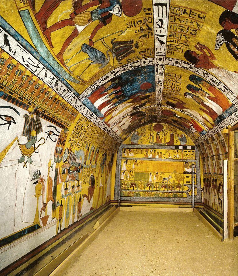 Composition de l'être dans l'Égypte antique