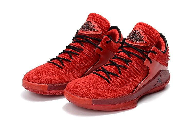 Jordans 2018 Release Air Jordan 32 Low Rosso Corsa Gym Red Black Newest Jordans Air Jordans Basketball Shoes