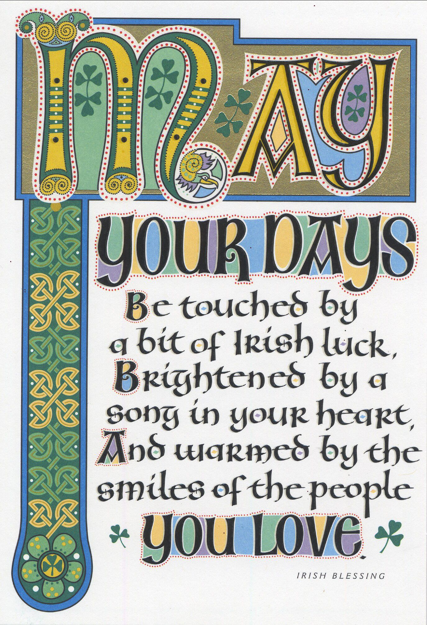Share A Traditional Irish Blessing St Patricks Day Pinterest