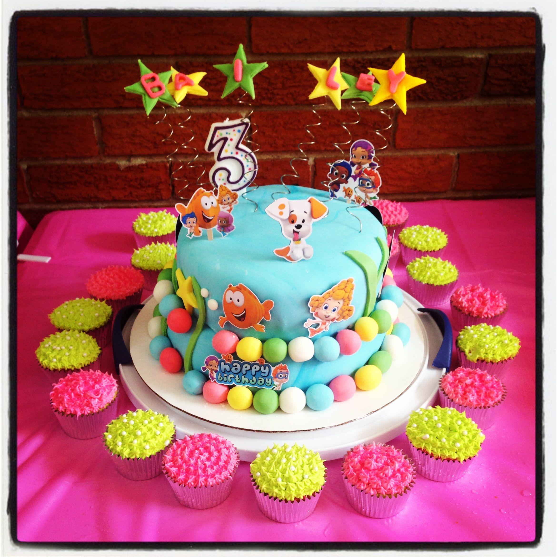 Brilliant Bubble Guppies Birthday Cake Bubble Guppies Birthday Bubble Birthday Cards Printable Inklcafe Filternl
