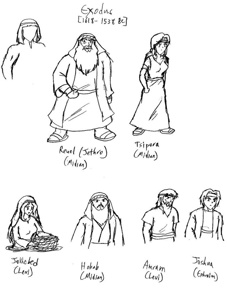 Bible character coloring pages | draw | Pinterest | Characters